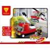 Конструктор DREAMLOCK Пожарные спасатели Пожарная техника (4424)