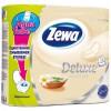 Туалетная бумага Zewa Deluxe 3-слойная Аромат СПА шампань 4 шт (7322540568783)