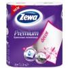 Бумажные полотенца Zewa Premium 2-слойные Декор Белые 2 шт (7322540662146)