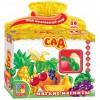 Настольная игра Vladi Toys Сад Мой маленький мир 16 мягких магнитов (VT3101-01)