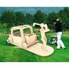 Сборная модель Мир деревянных игрушек Игрок в гольф (С008)