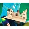 Сборная модель Мир деревянных игрушек Теннисист (С007)