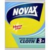 Салфетки для уборки Novax влагопоглощающие 3 шт (4823058303383)