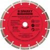 Диск SPARKY алмазный с лазерной напайкой 230х28x22,23мм (20009541100)