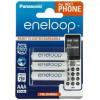 Аккумулятор PANASONIC Eneloop AAA 750mAh NI-MH Dect Series * 3 (BK-4MCCE/3DE)