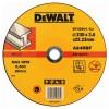 Диск DeWALT отрезной по металлу, 230х3.0х22.2мм. (DT42601)