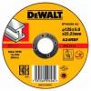 Диск DeWALT шлифовальный по металлу 125х6.0х22.2мм. (DT42320)