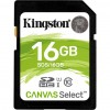 Карта памяти Transcend 16GB SDHC class 10 UHS-I Canvas Select (SDS/16GB)