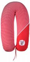 Подушка для кормления Ідея Стандарт (в сумке) красный (белая точка)