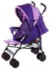 Коляска трость Quatro Mini № 9 фиолетовый - св.розовый