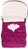 Зимний конверт Qvatro № 20 с удлинением бордо (мишка на облаке)