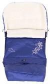 Зимний конверт Qvatro № 20 с удлинением т.синий с узором