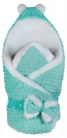 Конверт-одеяло BabyRoom Dream DM-022 плюш мутон бирюзовый
