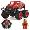 Автомобиль Monster Smash-Ups CRASH CAR на р/у - ЗМЕЙ красный, аккум. 4.8V (TY5873B-1)