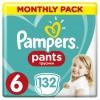 Подгузник Pampers трусики Pants Extra Large Размер 6 (15+ кг) 132 шт (8001090808080)