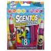 Набор для творчества Scentos ароматные маркери для рисования Плавная линия 8 цветов (40605)