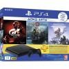 Игровая консоль SONY PlayStation 4 1TB HZD+GTS+GOW+PSPlus 3М (CUH-2208B)