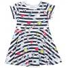 Платье Lovetti с рисуночками (5911-7-110G-white)