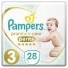 Подгузник Pampers Premium Care Pants Midi Размер 3 (6-11 кг), 28 шт. (4015400687894)