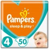Подгузник Pampers Sleep & Play Maxi Размер 4 (9-14 кг), 50 шт (8001090669056)