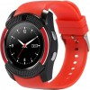 Смарт-часы UWatch V8 Red (F_52784)