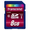 Карта памяти Transcend 8Gb SDHC UHS-1 (TS8GSDHC10U1)